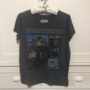 💫 Star Wars Gray Soft T-Shirt ☄️